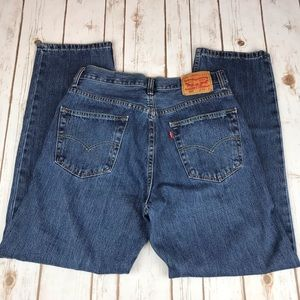 Levi's Jeans - Levi's 550, High Rise All Cotton Relaxed Fit Jeans